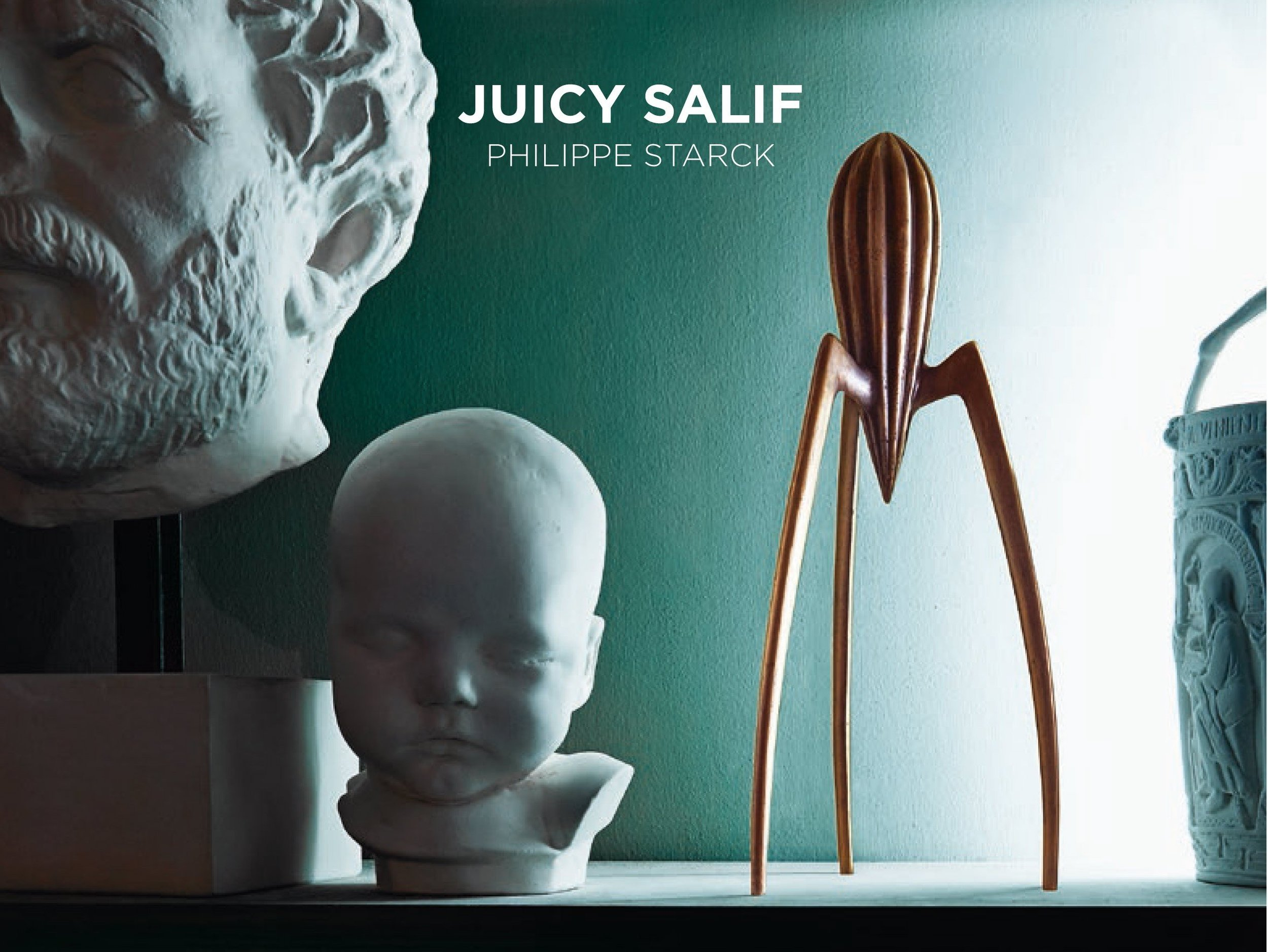 juicy salif citrus squeezer in cast bronze limited edition officina alessi. Black Bedroom Furniture Sets. Home Design Ideas
