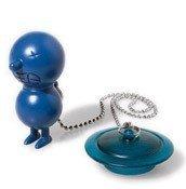 Mr. Suicide bathtub plug navy blue - small