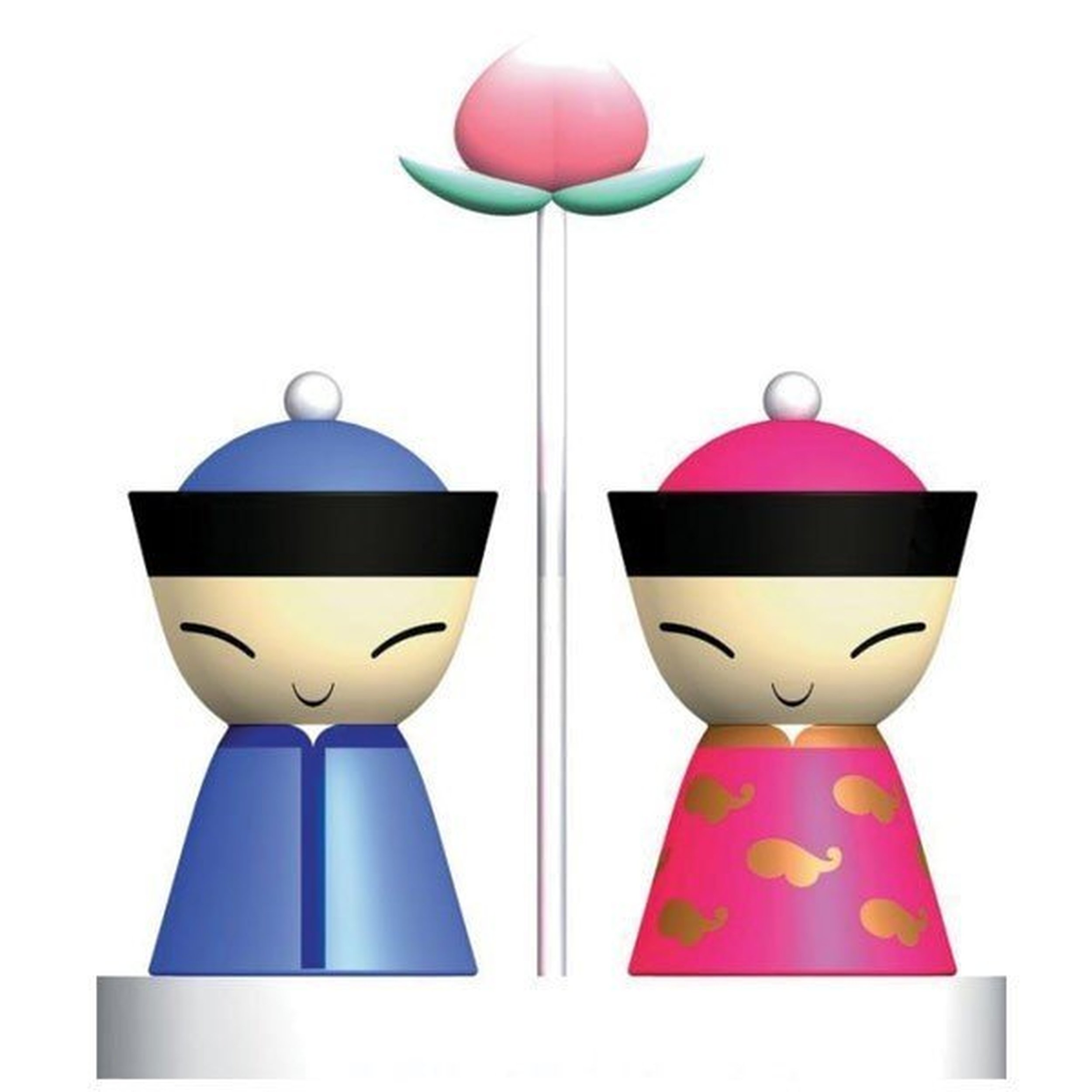 mr chin salt and pepper set a di alessi