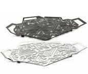 Hellraiser tray polished steel