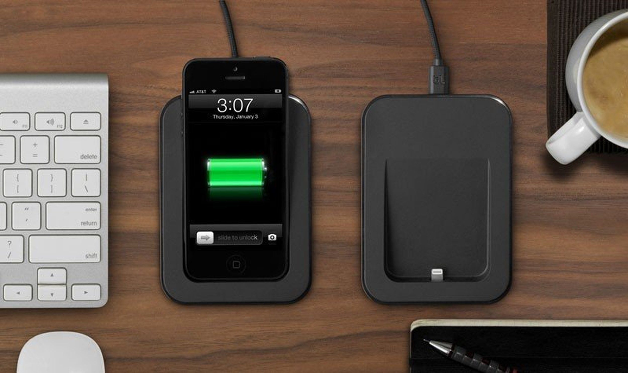saidoka iphone 5 desk charger bluelounge. Black Bedroom Furniture Sets. Home Design Ideas