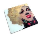 Icon Marilyn cutting board