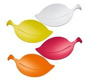 Leaf-on bowl set of 4