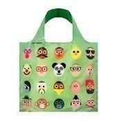 Loqi Reusable Bag Artists Stephen Cheetham Faces Bag