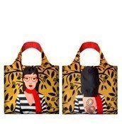 Loqi Reusable Bag Cool People Snake Lady