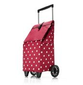 Trolley shopping trolley Ruby Dots