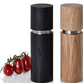 Textura Grande Salt and pepper mills