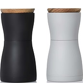 Twin Set of salt and pepper mills