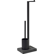 Menoto Toliet paper stand and toilet brush
