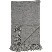 Bloomingville Coverlet grey woolen