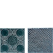 Bloomingville Decorative tiles green 2 pcs