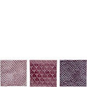 Bloomingville Decorative tiles pink 3 pcs