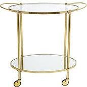Bloomingville Wheeled tray table