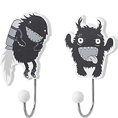 Kids Bloomingville Decorative hangers monsters 2 pcs.