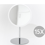 Airmirror Magnifying mirror white standing