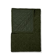 Billie Coverlet dark green