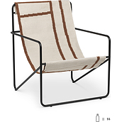 Desert Black frame chair