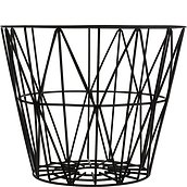 Ferm Living Metal basket black