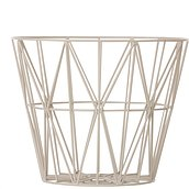 Ferm Living Metal basket light grey