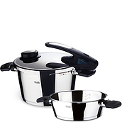 Vitavit Edition Design Pressure cookers in 6 l and 2.5 l sets