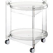 Massoni Serving stand on wheels