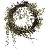 Wild Christmas decoration wreath