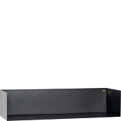 Hübsch Shelf 61 cm black metal