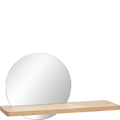 Hübsch Shelf mirror