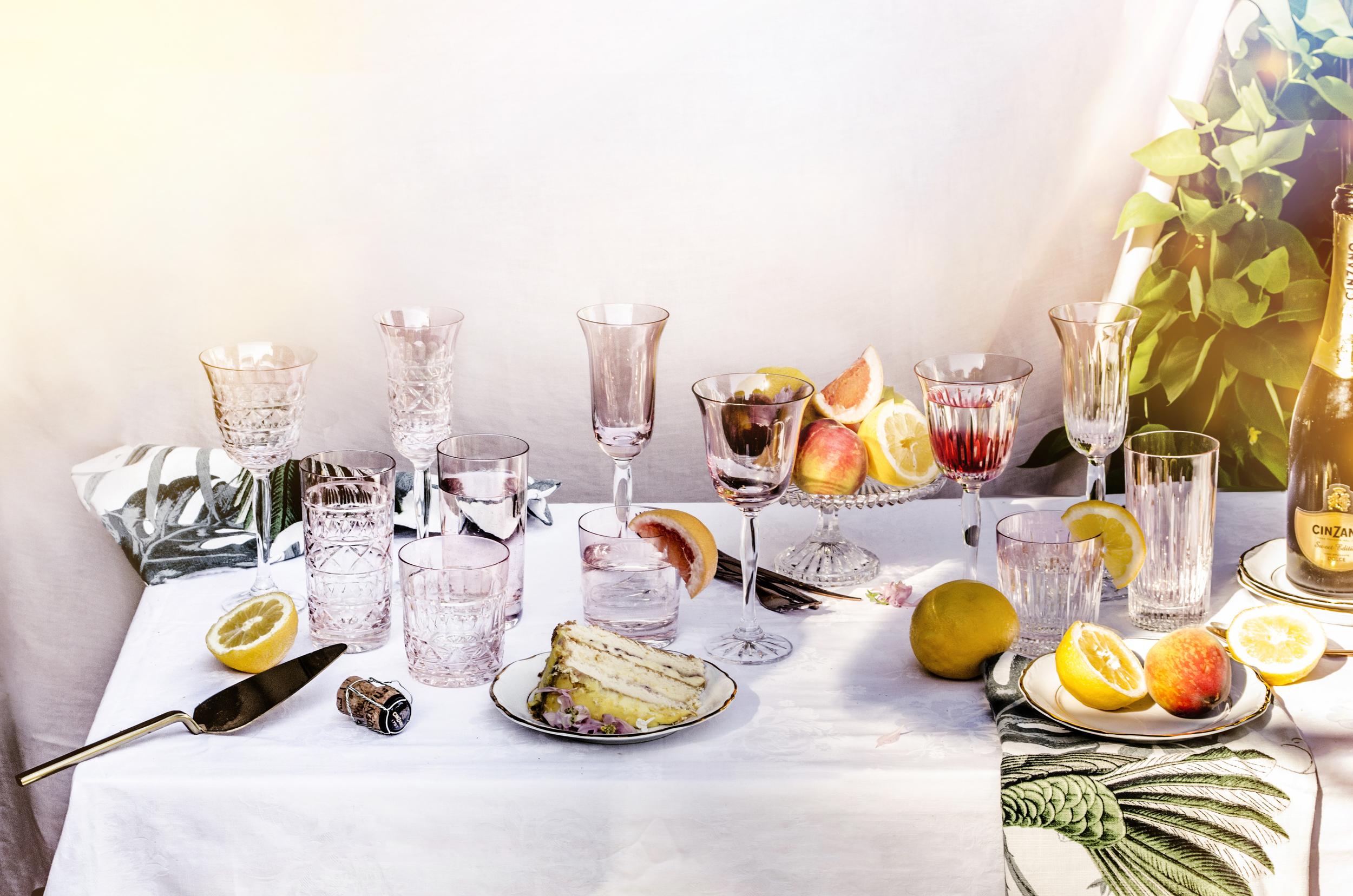 Veranda Champagne Flutes 3 Pcs Huta Julia 14685 Formadore