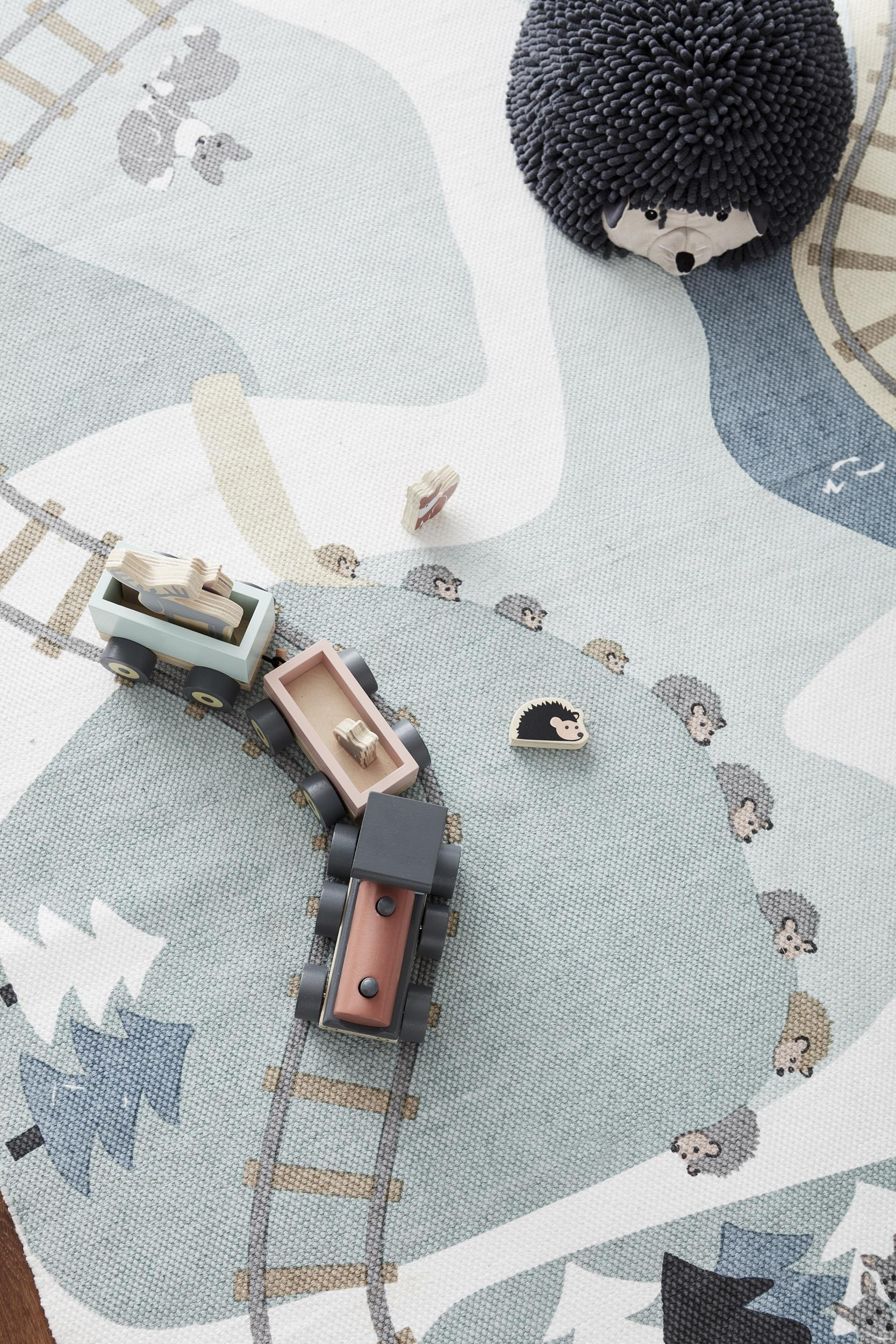 Kids Concept Edvin Hedgehog Seat Pouf Toy