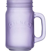 Kilner Jar with handle frosted glass