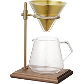 Slow Coffee Style Coffee brewer with decanter and base