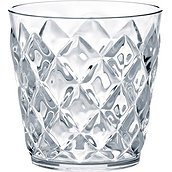 Crystal S tumbler transparent