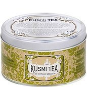 Almond green tea tin 125 g