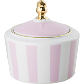 Stripes Sugar bowl pink - small image