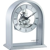 Arch Top Skeleton Table clock