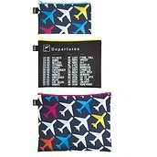 Zip Pockets Sachets 3 pcs.