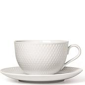 Rhombe Tea cup with a saucer