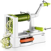 Helix vegetable and fruit cutter