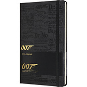Moleskine 007 Notebook lined limited edition