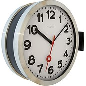 Station Double Wall clock