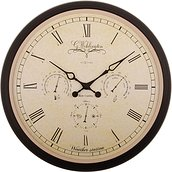 Wehlington Weather Station Wall clock