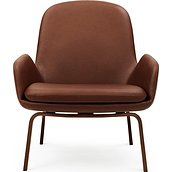 Era lounge chair low wood