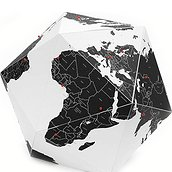Here The Countries Personal globe decoration