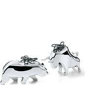 Bull & Bear Paperclip holder