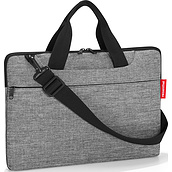 Netbookbag Laptop tote twist silver