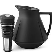 Grand Cru Thermos black with infuser