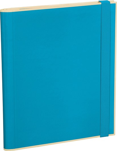 Die Kante Folder for documents with turquoise clip