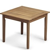 Drachmann Square table Teakwood