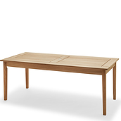 Drachmann Table natural teak wood